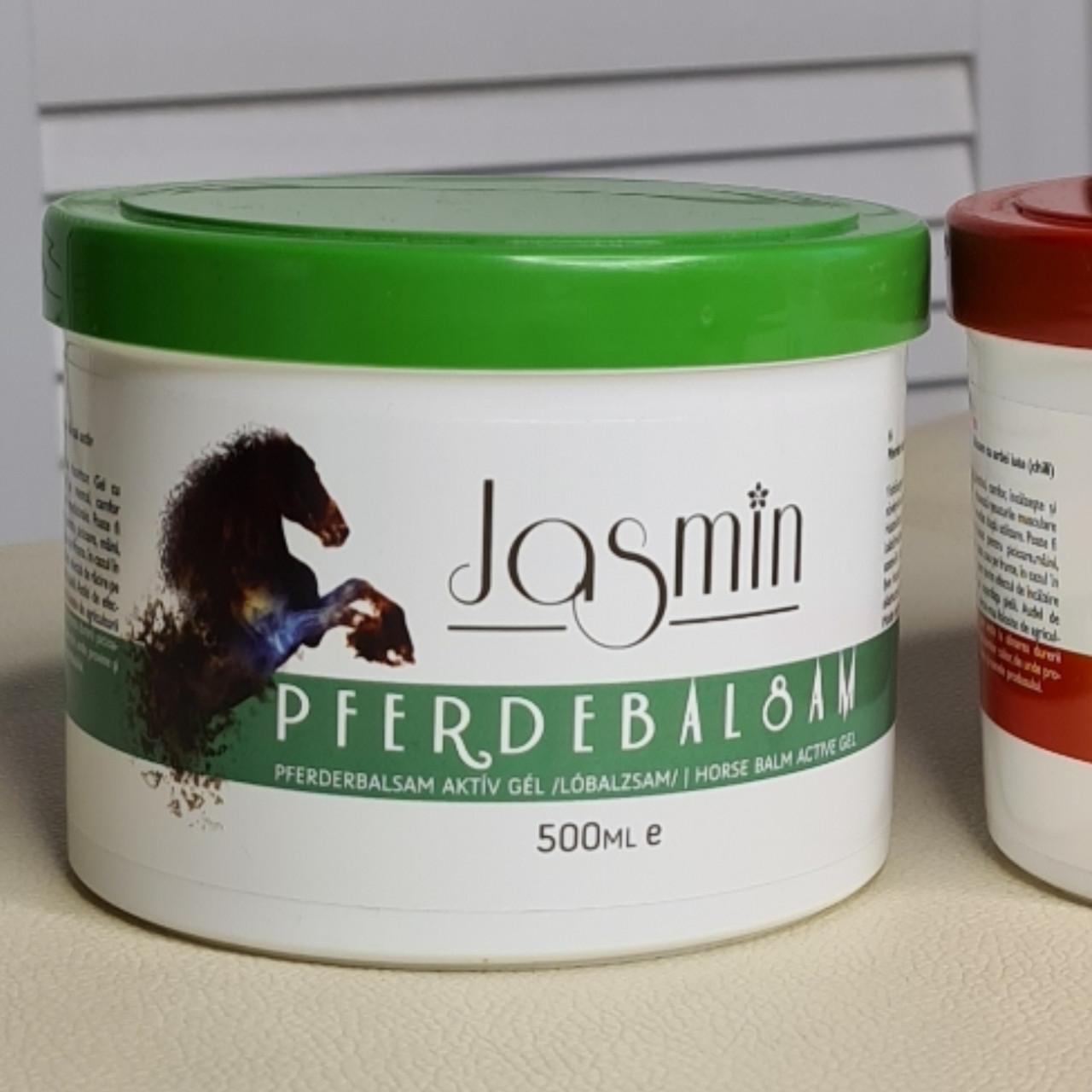 Охолоджуючий гель з ментолом камфорою травами Pferdebalsam jasmin chili balsam