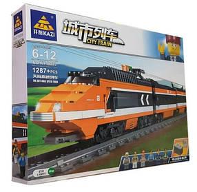Конструктор 98223 Залізниця з блоком живлення Швидкісний поїзд