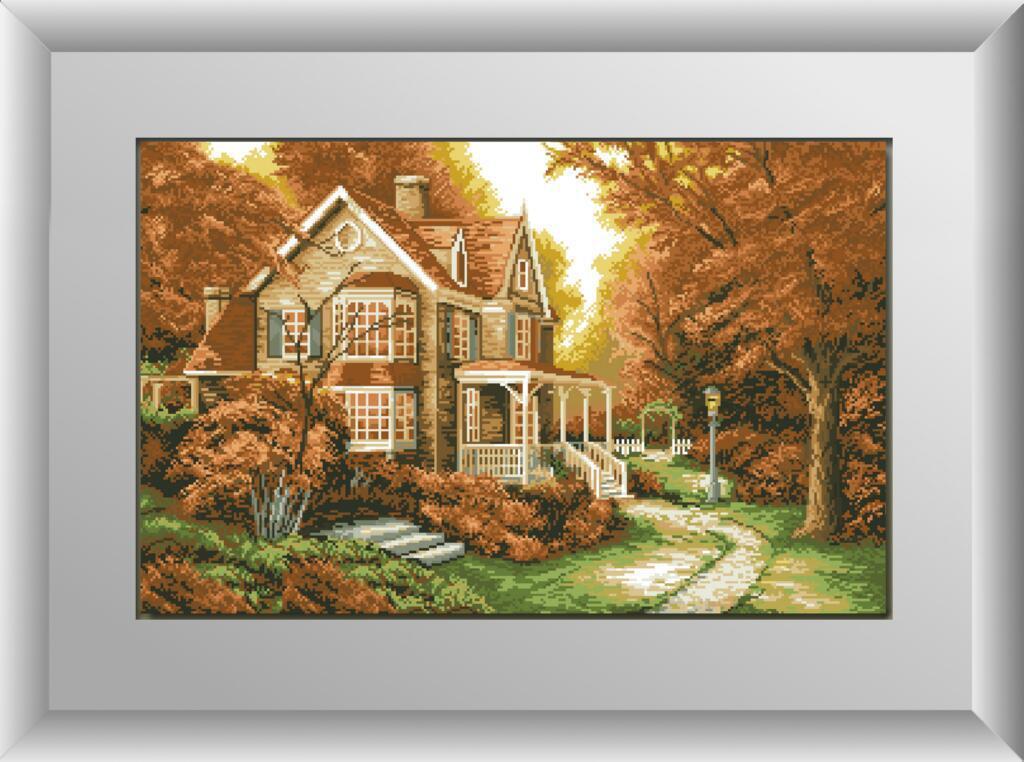 Алмазная мозаика Осенняя легенда Dream Art 30219 47x74см 24 цветов, квадр.стразы, полная зашивка