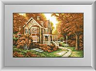 Алмазная мозаика Осенняя легенда Dream Art 30219 47x74см 24 цветов, квадр.стразы, полная зашивка, фото 1
