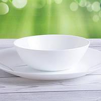 Білий гладкий салатник Arcopal Zelie 180 мм (L6385)