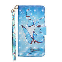 Чехол-книжка Color Book для Samsung Galaxy A41 A415 Бабочки
