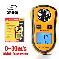 Анемометр 0,1-30м/с, -10-45°C, Benetech GM8908, фото 1