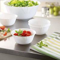Білий порційний салатник Luminarc Cadix 120мм 37789
