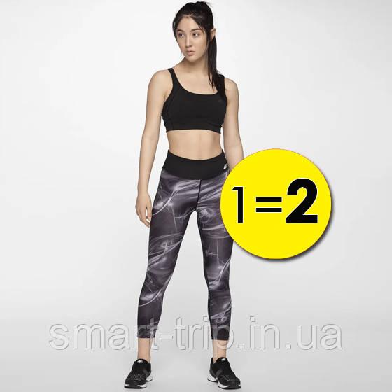 Лосины женские 4F Fitness L black 1=2 W (H4L19-SPDF003-20А)