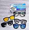 Очки солнцезащитные антибликовые Magic Vision Original 5 в 1, фото 2