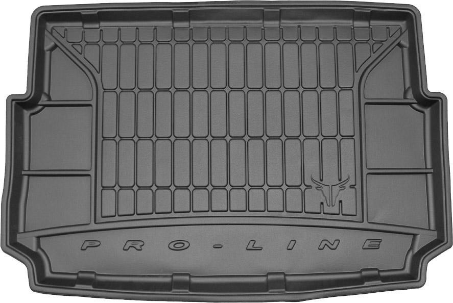 Коврик в багажник Ford Fiesta Mk VII Active Hatchback 5d 2017- низ Frogum Pro-Line TM404984