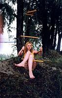"""Гамак кресло сетка сидячий для дачи для дома туристический для сада """"Лиана"""""""