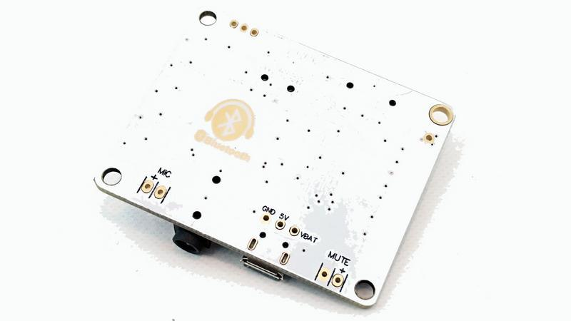 Плата Bluetooth MP3 беспроводной аудио приемник 3.7V Micro USB (12303) 2