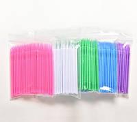 Микробраши Aurora для нанесения жидкостей в пакетах 100 шт