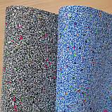 Эко кожа мрамор с пайеткой - набор 2 листа 19 на 30 см. - 40 грн, фото 2