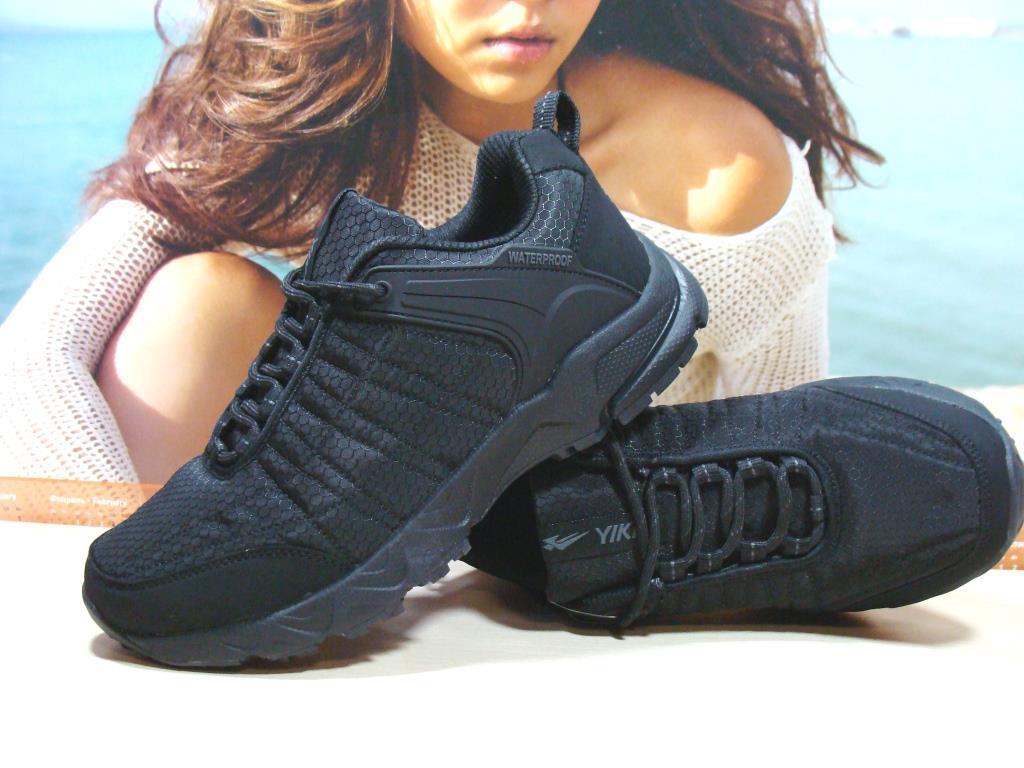 Мужские термо - кроссовки Yike waterproof черные 45 р.