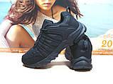 Мужские термо - кроссовки Yike waterproof черные 45 р., фото 5
