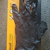 Перчатки плотные Нитриловые Ideal Grip+(черные) XL 9-10 25пар/50 шт.