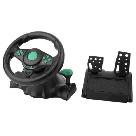Гоночный руль Vibration Steering Wheel ps3 ps2 pc USB мультимедийный 3 в 1, фото 3