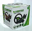 Гоночный руль Vibration Steering Wheel ps3 ps2 pc USB мультимедийный 3 в 1, фото 5