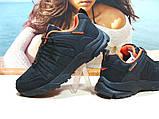 Мужские термо - кроссовки Yike waterproof черно-оранжевые 42 р., фото 6