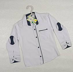 Белая рубашка на мальчика. На рост 116 см .Турция
