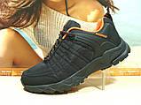 Мужские термо - кроссовки Yike waterproof черно-оранжевые 44 р., фото 7