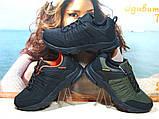 Мужские термо - кроссовки Yike waterproof черно-оранжевые 44 р., фото 9
