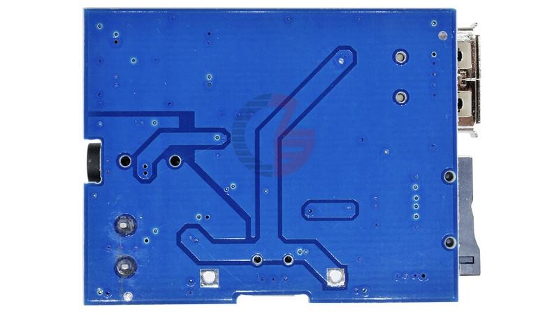 Плата стерео аудио плеер MP3 декодер USB micro SD (11123) 3