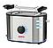 Тостер Vitalex Pro steel edit VL, 2 отделения, мощность 730Вт, VL-5019, стальной цвет, фото 2