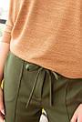 """Кофта женская """"AZ-327"""" коричневый, фото 2"""