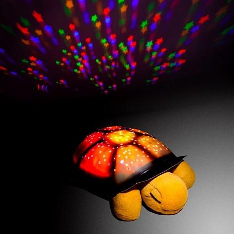 Музыкальный проектор звездного неба ночник-светильник Черепаха Turtle Night Sky с USB кабелем