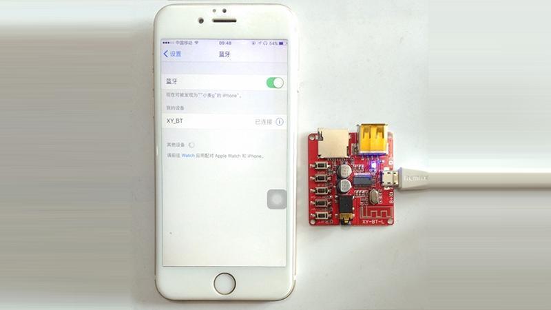 Модуль декодер MP3 Bluetooth 4.1 аудио приемник с USB (15871) 6