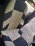 Авточехлы Chery QQ HatchBack с 2003-12 г бежевые, фото 7