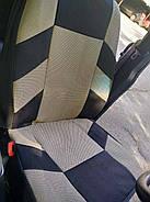 Авточехлы Hyundai Accent (цельный) с 2010 г бежевые, фото 2