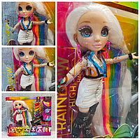 Кукла Rainbow High Стильная прическа Surprise Amaya Raine Hair Studio Рейнбоу Хай салон красоты 569329