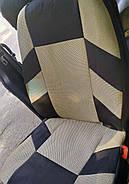 Авточехлы Nissan Note c 2005-12 г эконом бежевые, фото 4