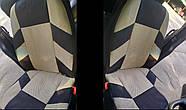 Авточехлы Nissan Note c 2005-12 г эконом бежевые, фото 6