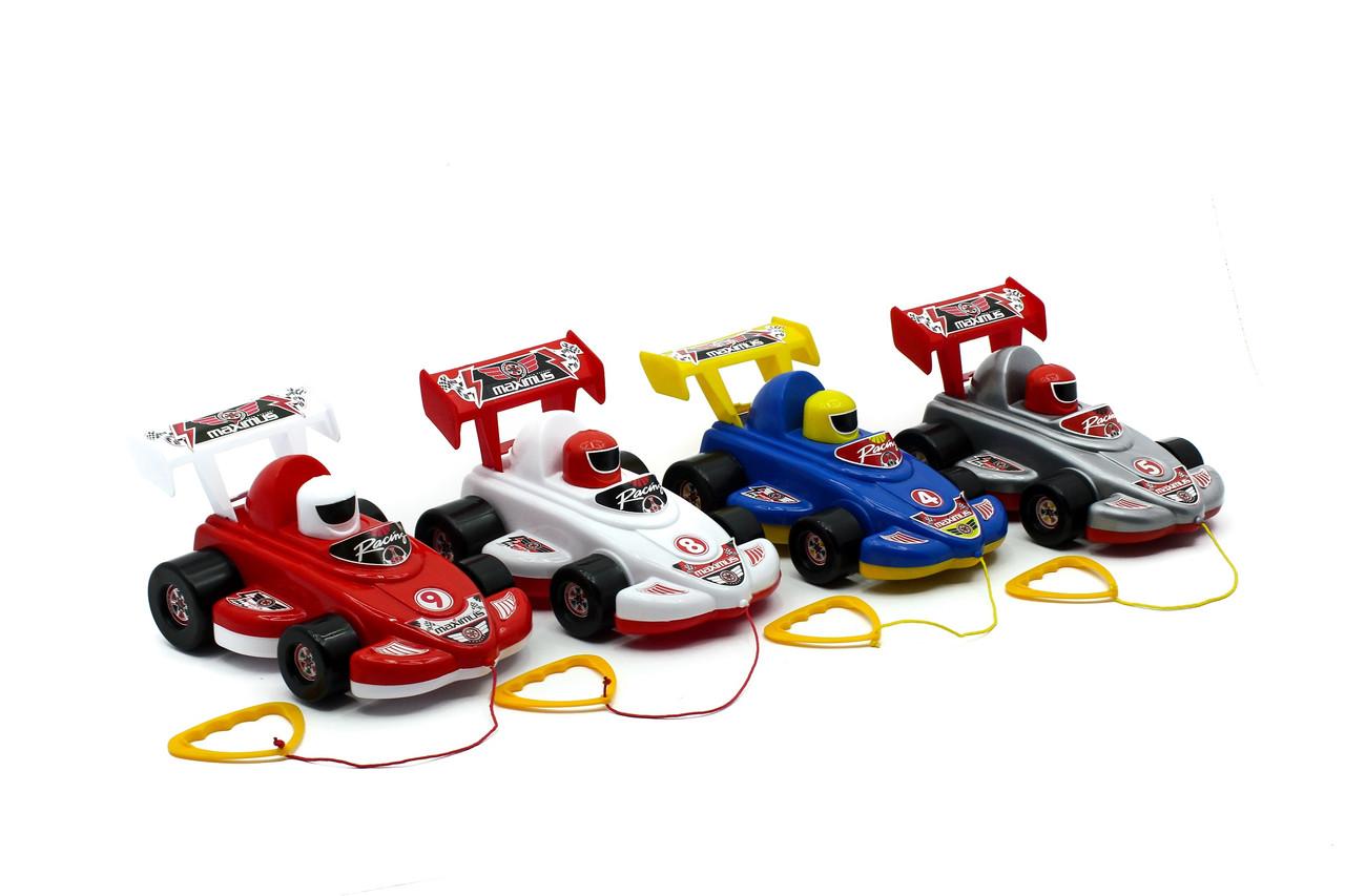 Детская машинка Бустер МГ 175, 28х17х15см MaxGroup