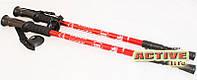 Трекинговые палки для туризма, скандинавской ходьбы Energia (red)