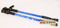 Трекинговые палки для туризма, скандинавской ходьбы Energia (blue), фото 1