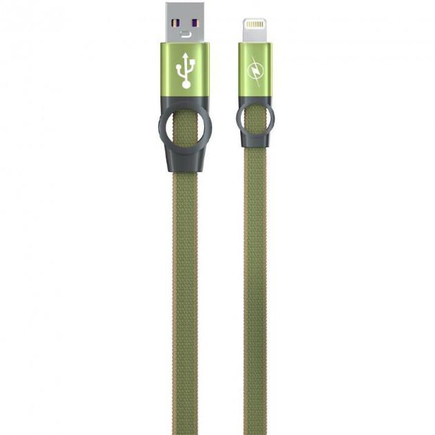 Зарядный кабель Gelius Pro Flexible 2 GP-UC07i iPhone X Green