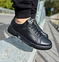 Кеды Calvin Klein (ck-6) кроссовки (туфли)мужская обувь полностью из натуральной кожи philipp plein