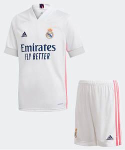 Футбольна форма Реал Мадрид (Real Madrid), домашня/біла сезон 20/21