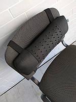 Подушка массажер под поясницу EKKOSEAT для стула со съемной массажной накидкой