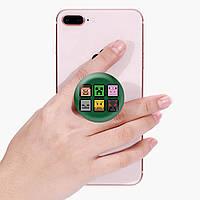 Попсокет (Popsockets) держатель для смартфона Майнкрафт (Minecraft) (8754-1173)