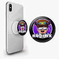 Попсокет (Popsockets) держатель для смартфона Роблокс (Roblox) (8754-1218)