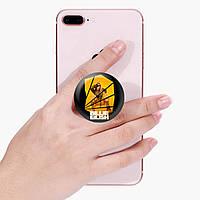 Попсокет (Popsockets) держатель для смартфона Билли Айлиш (Billie Eilish) (8754-1216)
