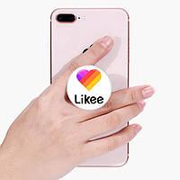 Попсокет (Popsockets) держатель для смартфона Лайк (Likee) (8754-1041)