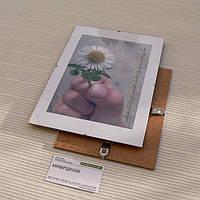 """Антирама бюджетная 594х841мм формат А1 стеклянная безбагетная клямерная рама рамка-клип или """"рамка без рамки"""""""