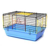 Клітка для гризунів Кролик 600 х 400 х 380 мм фарба різні кольори