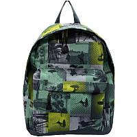 Рюкзак молодежный Wallaby зеленый (1353-4)