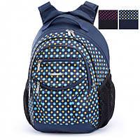 Рюкзак школьный ортопедический для девочки Dolly 508 синий, фото 1