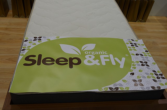 Organic Sleep&Fly - экологически чистые матрасы!